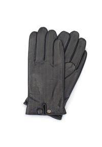 Czarne rękawiczki Wittchen eleganckie