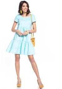 Niebieska sukienka Tessita mini