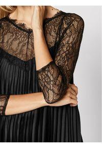 Czarna sukienka koktajlowa Nissa wizytowa