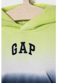 Żółta bluza GAP na co dzień, z aplikacjami
