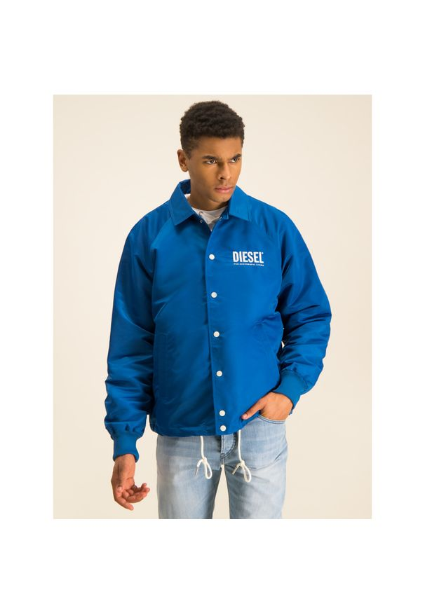 Niebieska kurtka Diesel