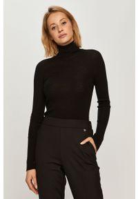 Czarny sweter TwinSet z długim rękawem, klasyczny