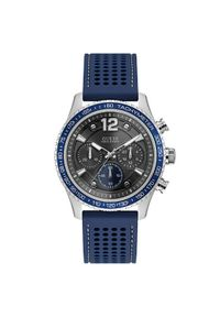 Niebieski zegarek Guess