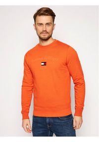 TOMMY HILFIGER Bluza Arch Artwork MW0MW15263 Pomarańczowy Regular Fit. Kolor: pomarańczowy