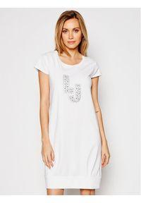 Biała sukienka Liu Jo na co dzień, casualowa