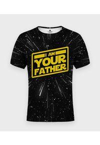 MegaKoszulki - Koszulka męska fullprint I am your father - star wars. Materiał: poliester, dzianina, bawełna, materiał. Wzór: motyw z bajki. Styl: klasyczny