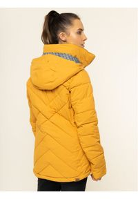 Roxy Kurtka snowboardowa Quinn ERJTJ03227 Żółty Tailored Fit. Kolor: żółty. Sport: snowboard