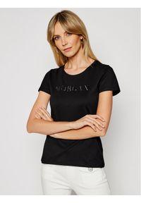 Czarny t-shirt Morgan De Toi