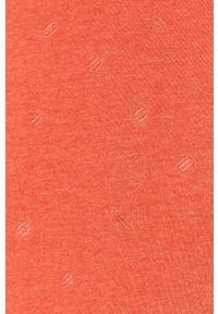 Czerwona bluza nierozpinana Only & Sons casualowa, bez kaptura, na co dzień