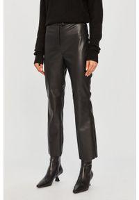 Czarne spodnie materiałowe Pepe Jeans casualowe, na co dzień