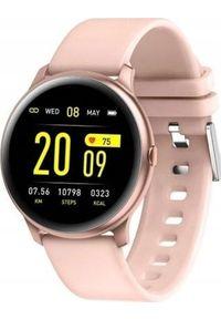Smartwatch KingWear KW19 Różowy (KW19 pink). Rodzaj zegarka: smartwatch. Kolor: różowy