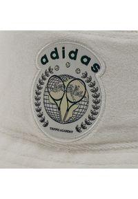 Adidas - Bucket adidas - Hat H62038 White. Kolor: biały. Materiał: materiał, bawełna