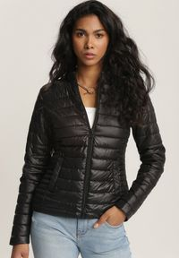 Czarna kurtka pikowana Renee
