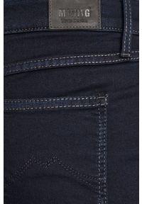 Niebieskie jeansy Mustang gładkie