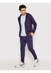 Niebieskie spodnie dresowe