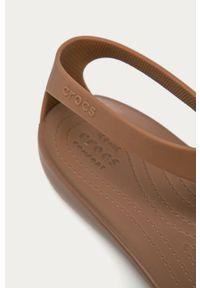 Sandały Crocs bez obcasa