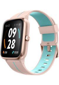 ULEFONE - Smartwatch UleFone Watch GPS Różowy (UF-WG/PK ). Rodzaj zegarka: smartwatch. Kolor: różowy