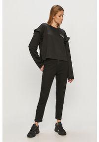 Czarna bluza adidas Originals z nadrukiem, długa