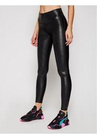 Spanx - SPANX Legginsy Faux Leather 2437 Czarny Slim Fit. Kolor: czarny