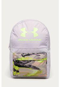 Fioletowy plecak Under Armour z nadrukiem