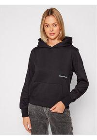 Calvin Klein Jeans Bluza J20J216234 Czarny Relaxed Fit. Kolor: czarny