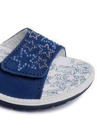 Niebieskie sandały Primigi na co dzień, z aplikacjami