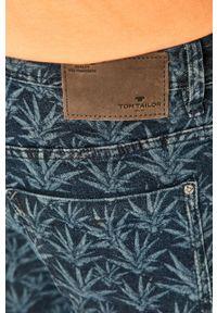 Niebieskie szorty Tom Tailor Denim na co dzień, casualowe