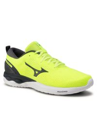 Żółte buty do biegania Mizuno Mizuno Wave