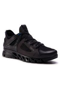 Czarne buty trekkingowe ecco Gore-Tex, trekkingowe