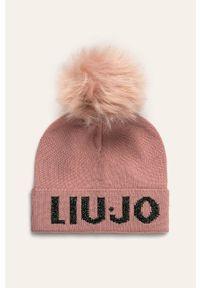 Różowa czapka Liu Jo