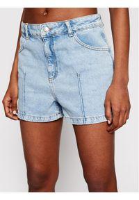 Niebieskie szorty jeansowe NA-KD