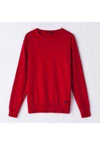 Czerwony sweter Cropp