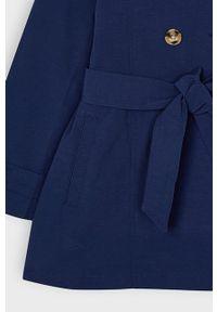 Niebieski płaszcz Mayoral casualowy, na co dzień