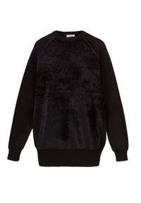Bluza Y-3 W CL KNT SWT. Materiał: welur, materiał. Długość rękawa: raglanowy rękaw