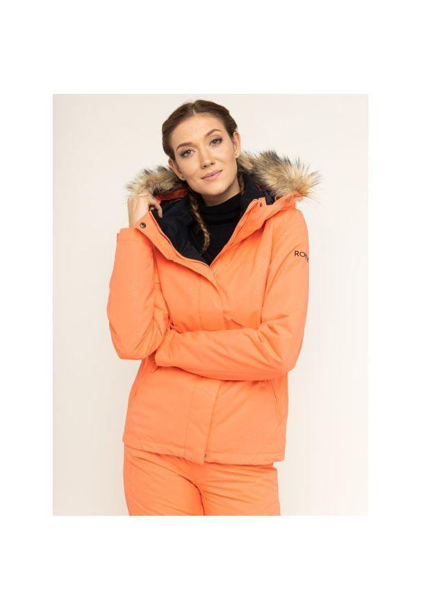 Różowa kurtka narciarska Roxy