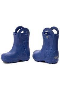 Crocs Kalosze Handle It Rain Boot Kids 12803 Granatowy. Kolor: niebieski