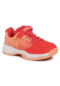 Wilson Buty Kaos K WRS326290 Czerwony. Kolor: czerwony