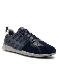 Geox Sneakersy U Snake.2 B U048DB 0CL54 C4002 Granatowy. Kolor: niebieski