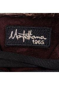 Fioletowe buty trekkingowe Montelliana z cholewką