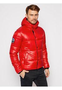 Czerwona kurtka puchowa Superdry