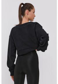 Reebok Classic - Bluza. Kolor: czarny. Materiał: tkanina. Wzór: gładki