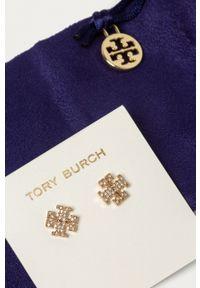 Tory Burch - Kolczyki. Kolor: złoty