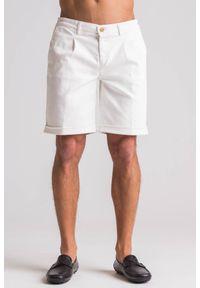 Białe szorty Trussardi Jeans
