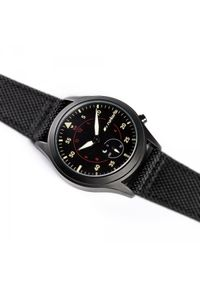 Smartwatch Runtastic Moment Elite Czarny (RUNMOEL1). Rodzaj zegarka: smartwatch. Kolor: czarny