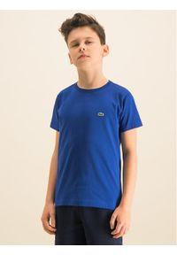 Niebieski t-shirt Lacoste