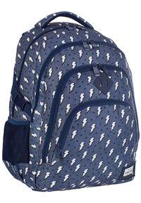 ALWAYS WILD - Plecak szkolny granatowy Always Wild HD-335 HEAD 3. Kolor: niebieski. Materiał: materiał. Wzór: nadruk, aplikacja. Styl: sportowy #1