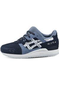 Niebieskie sneakersy Asics lifestyle Asics Gel Lyte, z cholewką
