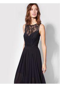Czarna sukienka wieczorowa Morgan