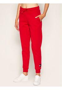 Czerwone spodnie dresowe Tommy Sport