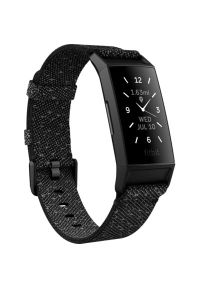 Czarny zegarek FITBIT elegancki